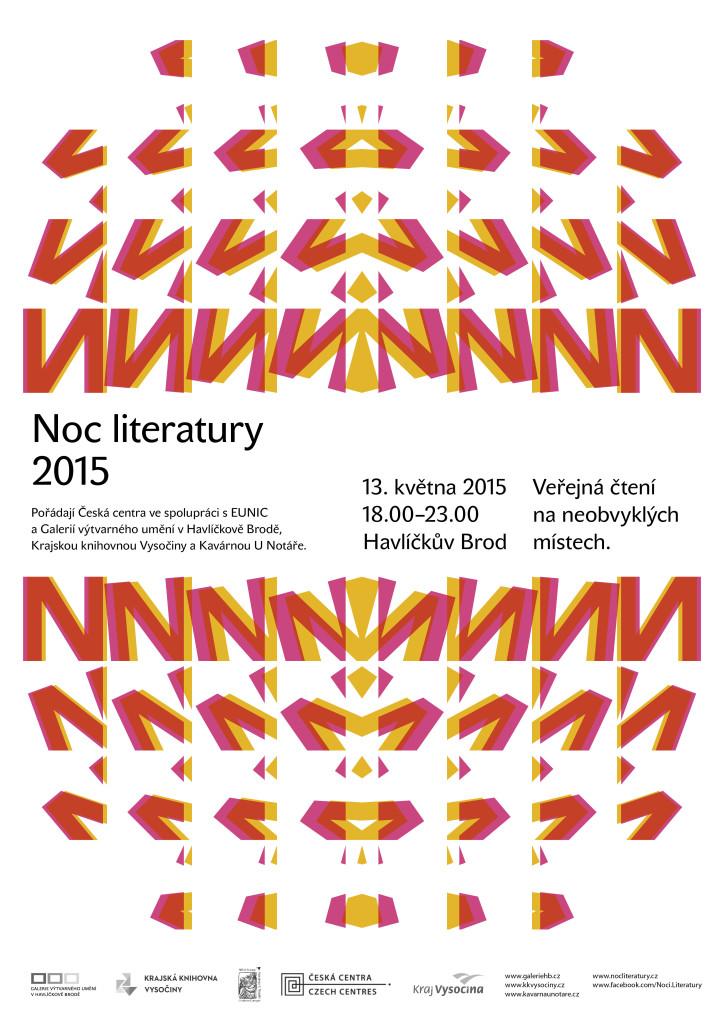 plakát noc literatury 2015