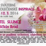 DEN SVATEBNÍ A SPOLEČENSKÉ INSPIRACE 12.3.2016 - PLAKÁT