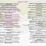 DEN SVATEBNÍ A SPOLEČENSKÉ INSPIRACE 12.3.2016 - SEZNAM VYSTAVOVATELŮ